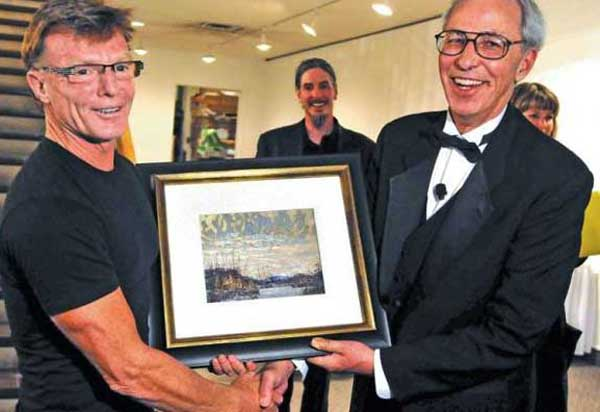 "Doug Levis runs one of Canada's most reputable fine art auctions. He would be hurt to find out that his fine establishment was used by a Toronto art dealer to get rid of paintings he considered ""forgeries"" and let the Buyer Beware. And actually make ""a small profit"" while doing it..."