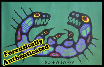 A forensic scientist exposed Phillips and Hills incompetence as Morrisseau authenticators but talented as art terrorists.