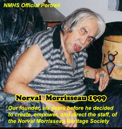 Six more years of dramatically progressive Dementia didn't slow down Norval one bit...