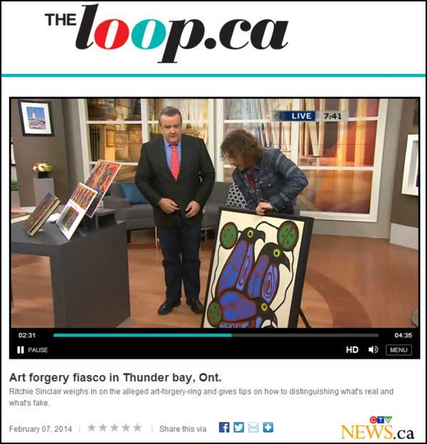 "The Faux-nishinaabe fraudster and art terrorist at work on national television ""with the help of his friends."" Inconceivable as it may be to ordinary Canadians, this multiply-judicially discreditedThe Faux-nishinaabe fraudster and art terrorist at work on national television ""with the help of his friends."" Inconceivable as it may be to ordinary Canadians, this multiply-judicially discredited"