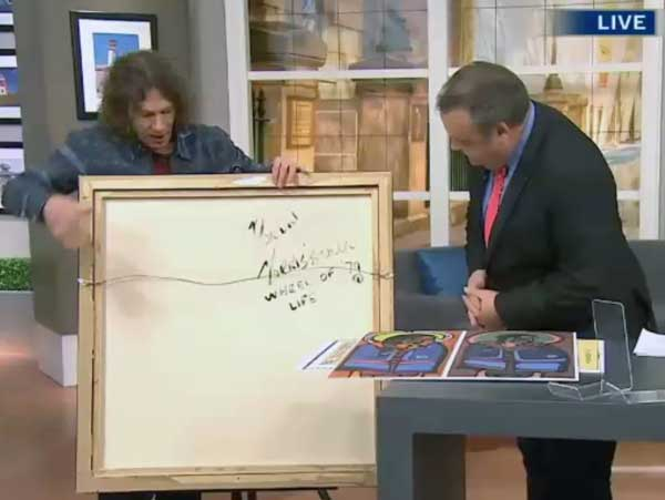 CTV weatherman and sports guy Jeff Hutcheson and Ritchie Sinclair tell millions of Canadians, on CTV's Canada AM what to look for in a Morrisseau painting to tell if it's a fake or not. In doing so, the witless duo are slanging literally thousands of genuine Morrisseau originals by a fraudulent standard they have dreamed up. Hundreds of Canadian Morrisseau colelctors should sue CTV.